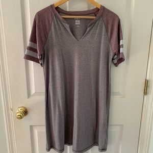 Gray Swing dress